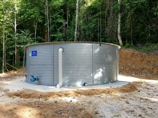 Pioneer water storage tank