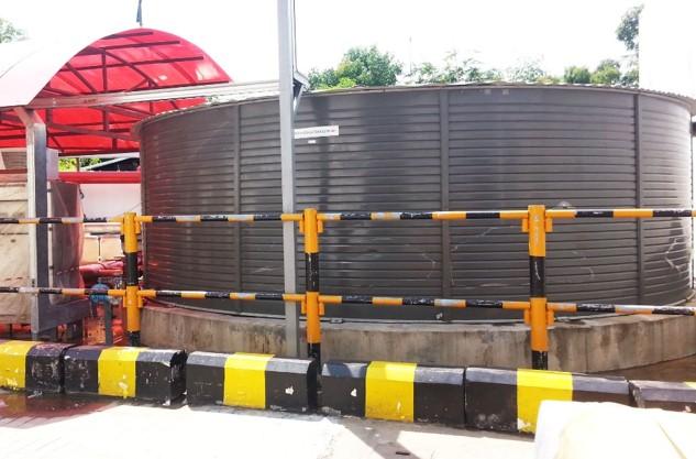 Pioneer Water Storage Tank 92m3(Colcorband@Tank)